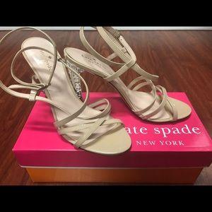 NIB Beige/Nude Size 9 Kate Spade Heels